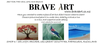 Brave Art - Paint and Wine