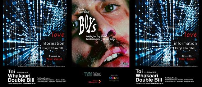 Love & Information - Toi Whakaari Double Bill