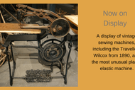 Image for event: Vintage Sewing Machine Display