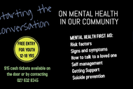 Image for event: Mental Health First Aid In Our Community