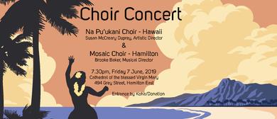 Hawaiian Choir & Mosaic Choir Concert