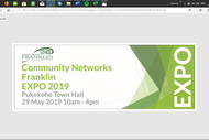 Image for event: Community Networks Franklin Expo 2019