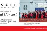 Image for event: Mosaic Choir Add Te Awamutu to Their Annual Concert Program