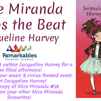 Jacqueline Harvey Book Launch: Alice Miranda Keeps the Beat