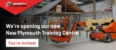 Safety 'n' Action New Plymouth Training Centre Launch