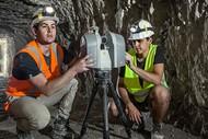 Laser Scanning the WW1 Arras Tunnels