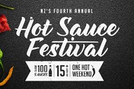 Image for event: NZs Fourth Annual Hot Sauce Festival