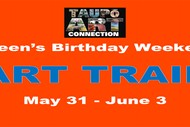 Image for event: Taupo Art Connection Queen's Birthday Weekend Art Trail