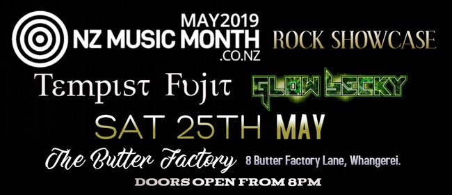 NZ Music Month Rock Showcase Feat Tempist Fujit & Glow Becky