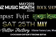 Image for event: NZ Music Month Rock Showcase Feat Tempist Fujit & Glow Becky