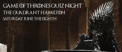 Game of Thrones Quiz Night