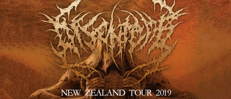 Disentomb New Zealand Tour - Christchurch