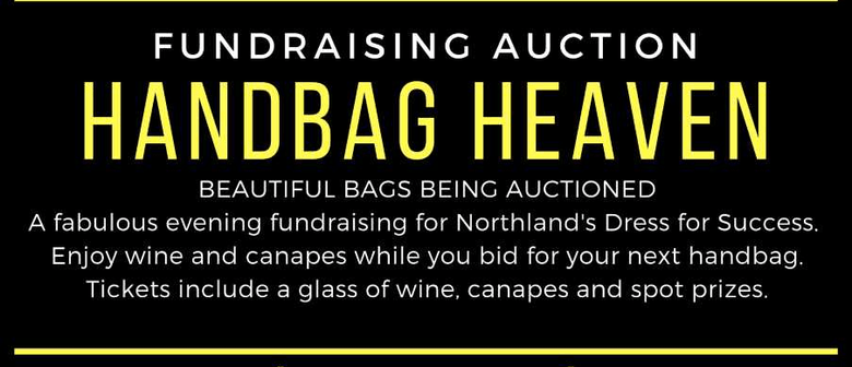 Fundraiser Auction Handbag Heaven