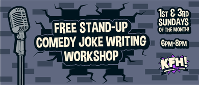 Stand-up Comedy Joke Writing Workshop