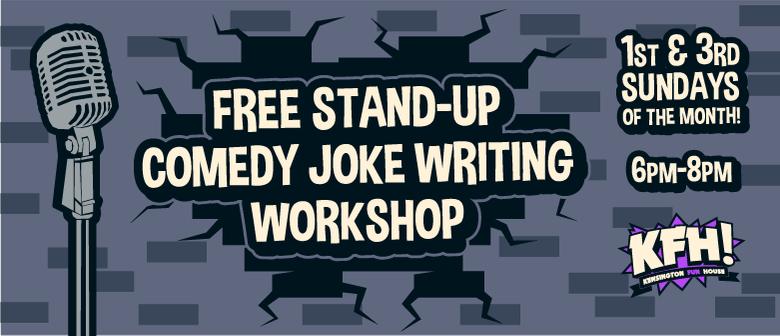 Stand-up Comedy Joke Writing Workshop