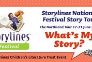 Image for event: Storylines National Festival Story Tour - What's My Story?