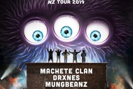 Image for event: Homeless Monsters NZ Tour