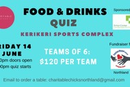 Image for event: Food & Drinks Quiz