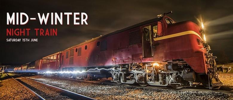 Weka Pass Railway's Mid Winter Night Train 2019