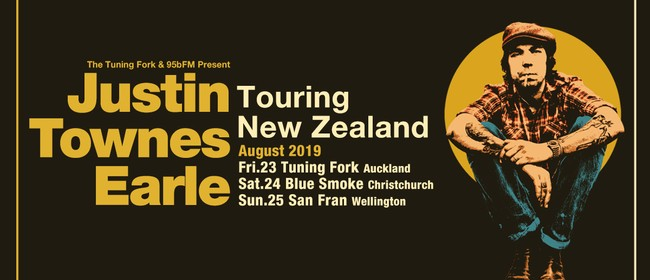 Justin Townes Earle NZ Tour