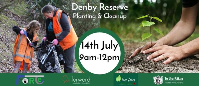 Denby Reserve Commemorative Planting