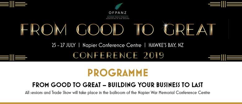 OFPANZ Annual Conference and Trade Show
