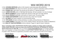 Image for event: Wairarapa Word - Monthly Talks With Writers