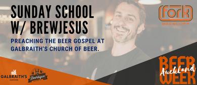 Auckland Beer Week: Sunday School with BrewJesus
