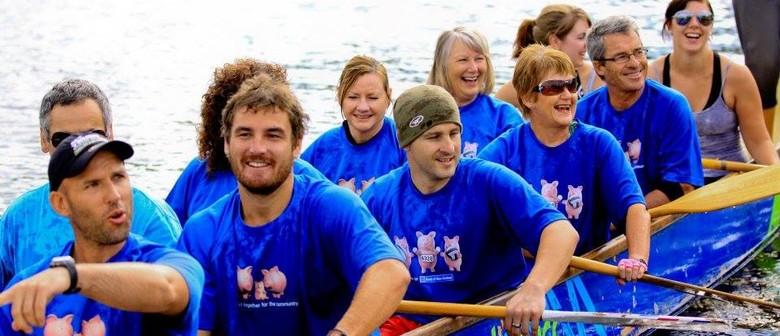 Race at The Lakes Corporate Dragon Boat Regatta 2019