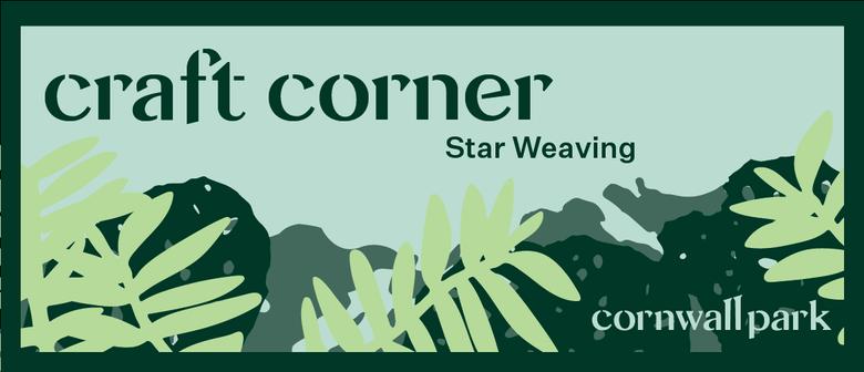 Craft Corner: Star Weaving