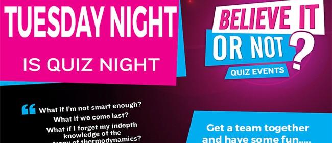 Pub Quiz Night - Believe It Or Not Quiz Nights