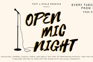 Image for event: Open Mic Night