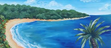 Paint and Wine Night - Blue Bay - Paintvine