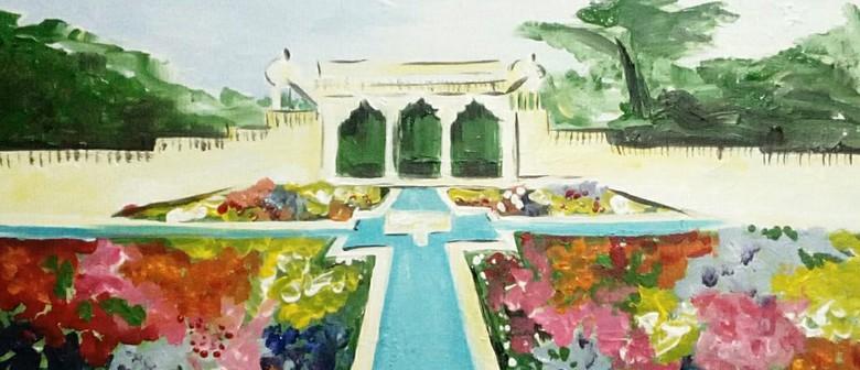 Paint and Wine Night - Hamilton Gardens - Paintvine