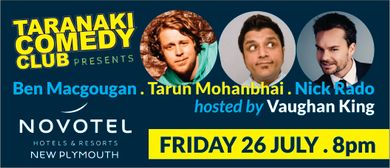 Taranaki Comedy Club - July 2019