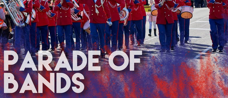 NZ Brass Band Champs - Parade of Bands