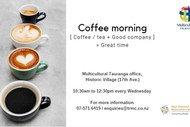 Image for event: Newcomers Coffee Morning