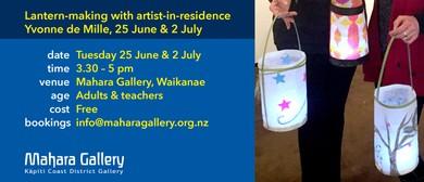 Lantern-Making With Artist-in-Residence Yvonne de Mille