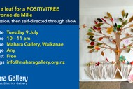 Create a Leaf for APositivitree with Yvonne de Mille