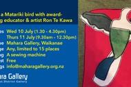 Create a Matariki Bird With Artist Ron Te Kawa