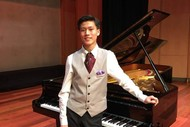 Image for event: Lunchtime Music – Samuel Jeon – Piano Recital