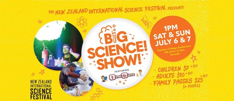 Big Science! Show! Featuring Street Science From Australia