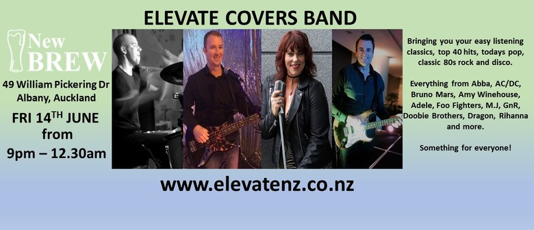 Elevate+ Covers Band - Auckland - Eventfinda