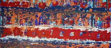 Abstract Art Exhibition Ingrid Mann