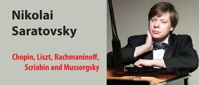 Russian Pianist Nikolai Saratovsky