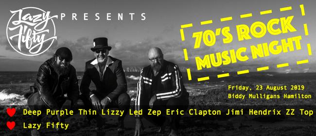 Lazy Fifty - 70s Rock Music Night