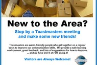 Image for event: Rolleston Toastmasters Open Meeting