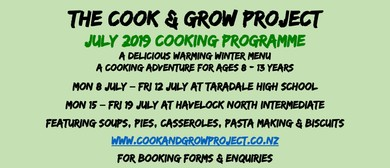 Cook & Grow School Holiday Cooking Classes 8-13 Yrs