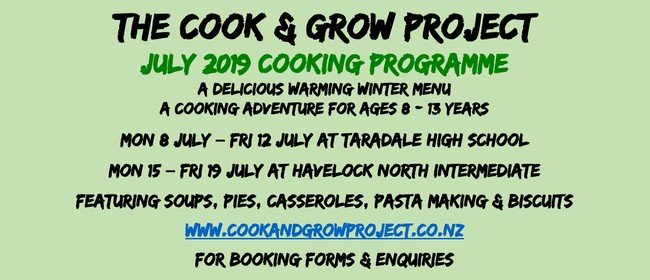 Cook & Grow School Holiday Cooking Classes 8-13Yrs