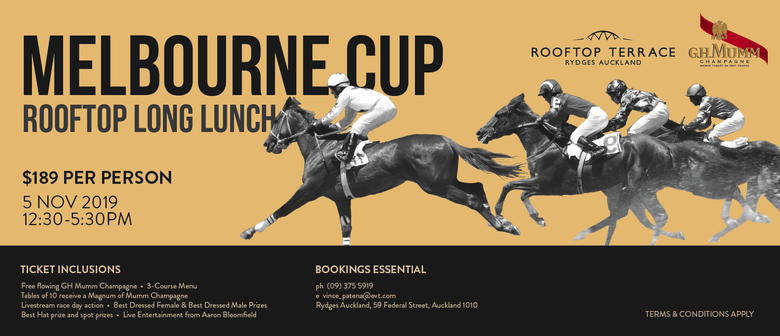 Melbourne Cup Day 2019 Long Lunch: SOLD OUT